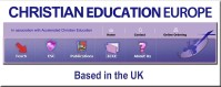 Christian Education Europe banner