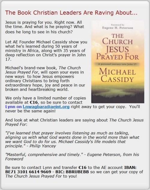 AE Church Jesus Prayed For