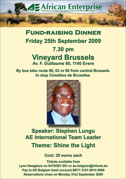 AE Fund-raising Dinner