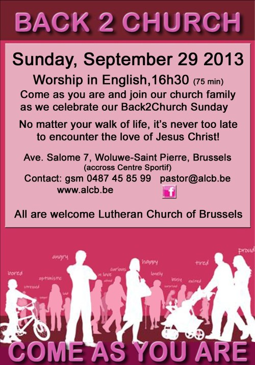 ALCB Back2Church Sept 2013 C