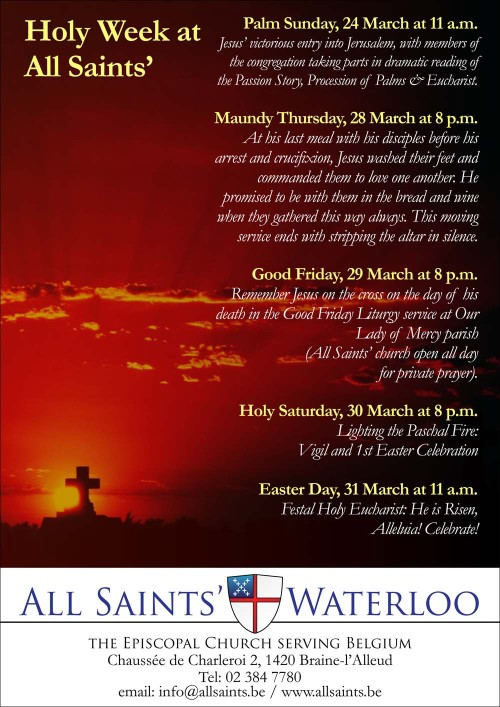 All Saints Holy Week 2013