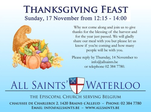 Thanksgiving Feast at All Saints'