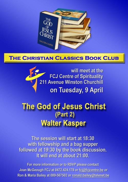 Book Club April 2013