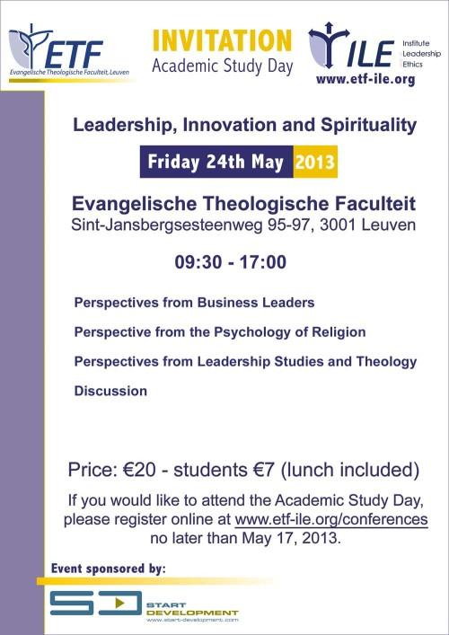 ETF Invitation Study Day 2013