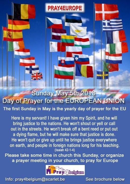 EU Day of Prayer post
