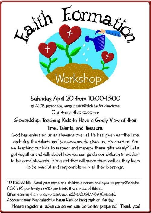 FF Workshop stewardship Apr 2013