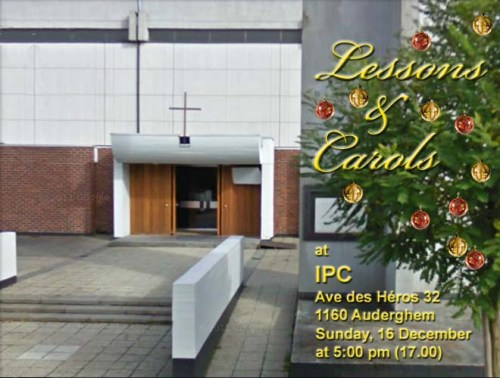 IPC Lessons and Carols 2012