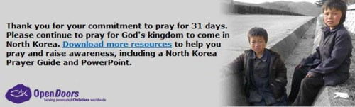 OD North Korea Prayer Campaign 3f