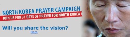 OD North Korea Prayer Campaign head