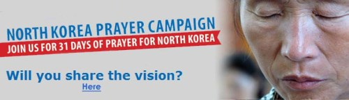 OD North Korea Prayer Campaign head