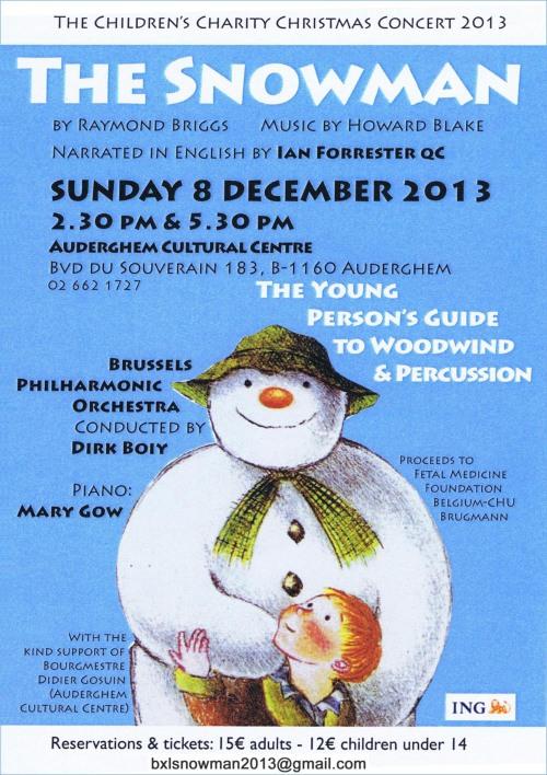 Snowman Poster 2013