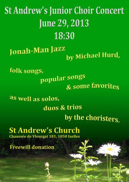 St Andrews Junior Choir June 2013