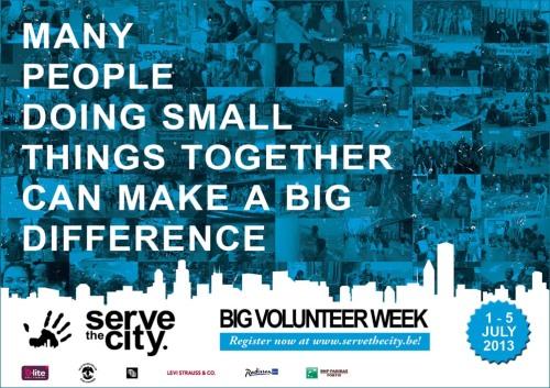 STC Big Volunteer Week 2013