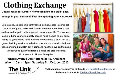 StP Clothing Exchange October 2013