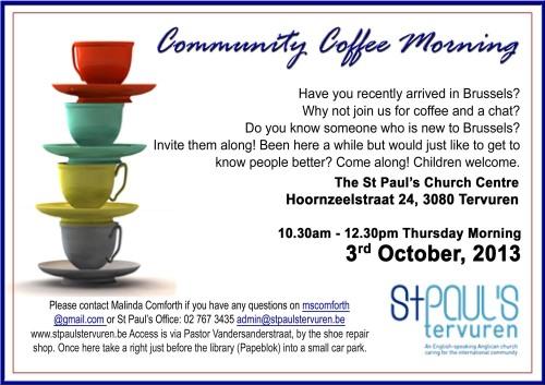 StP Community Coffee Morning 1k