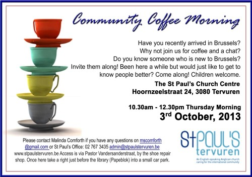 StP Community Coffee Morning 1k