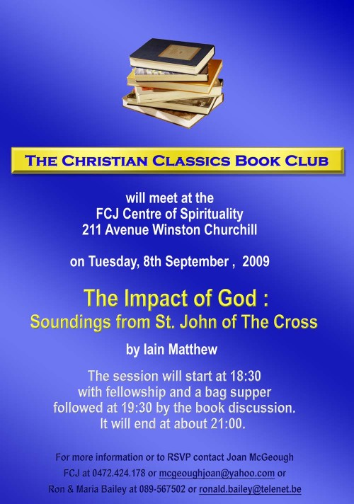 The Christian Classics Book Club Sept 2009