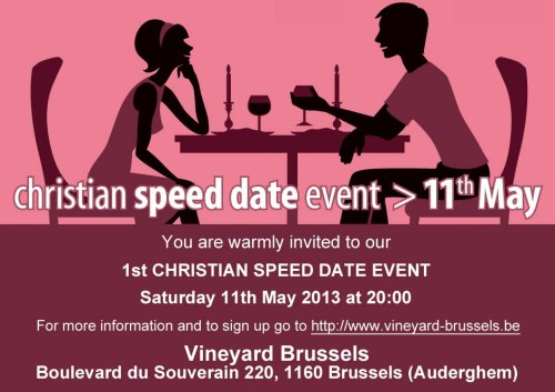 Vineyard Speetdatedate 11 May 2013