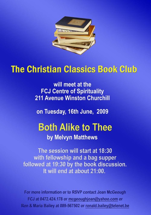 The Christian Classics Book Club June 2009