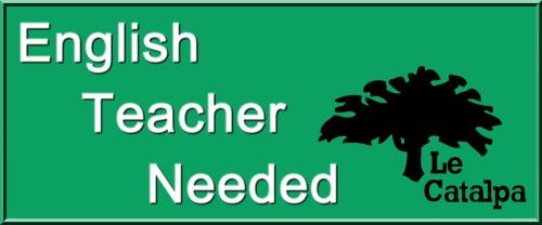 Le Catalpa English Teacher 3