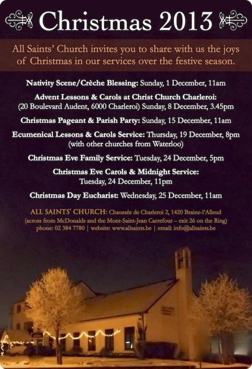 All Saints Christmas 2013