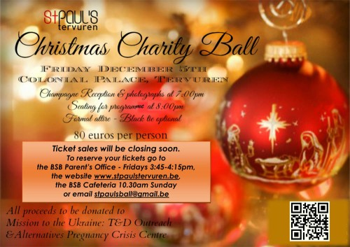 BSB Christmas Ball 5 Dec 2014