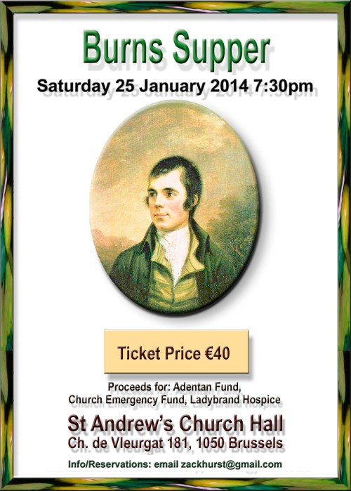Burns Supper 2014