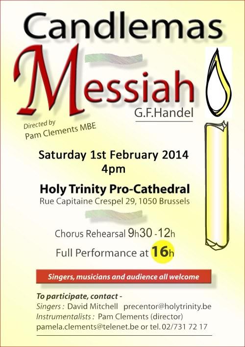 Candlemas Messiah 2014 B
