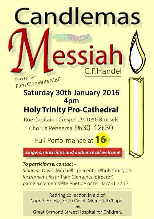 Candlemas Messiah 2016