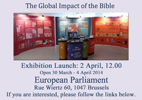 ECPM Bible Exhibition 2014