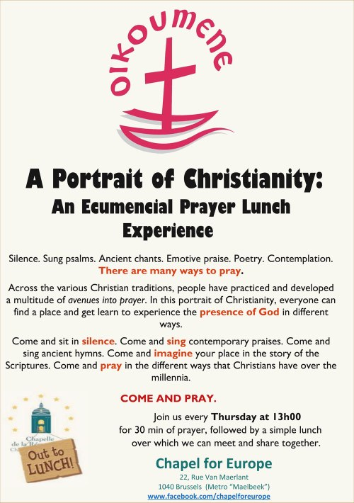 Ecumenical Prayer Lunch 2016 3