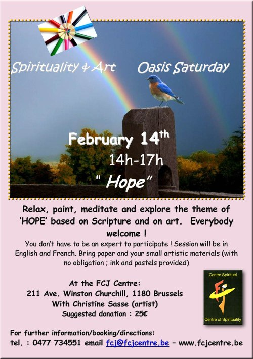 FCJ CENTRE OF SPIRITUALITY 211 AVENUE WINSTON CHURCHILL 1180 BRU