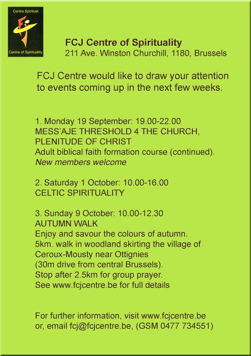 fcj-centre-events-sept-19-2016