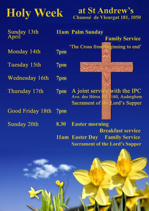 Holy Week at St Andrews 2014 1k