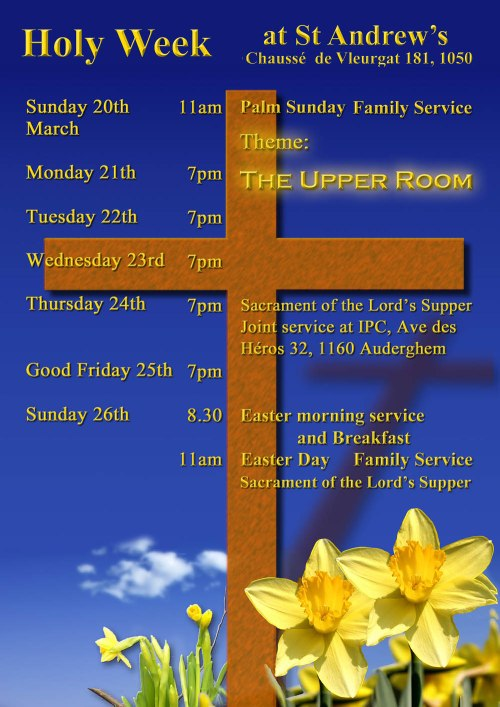 Holy Week at St Andrews 2016