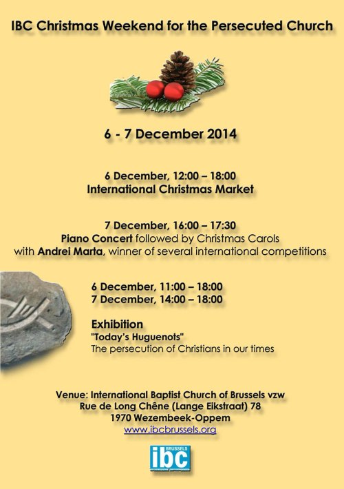IBC Christmas 6-7 Dec-2014 Ex + Market 1