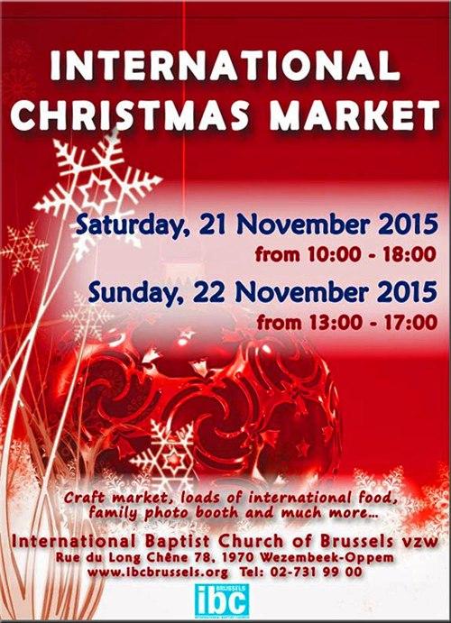 IBC Christmas Market 2015