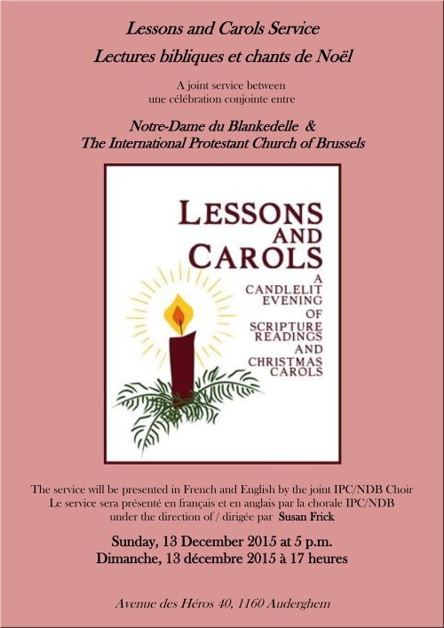 IPC Lessons and Carols Service 2015
