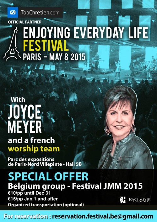 Joyce Meyer Paris May 8 2015