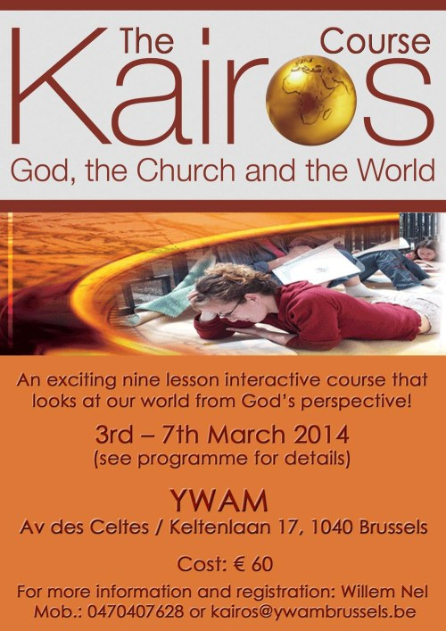 Kairos poster March 2014