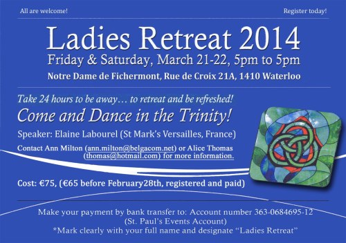 Ladies retreat M 2014