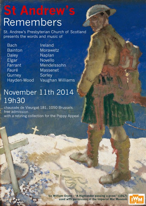 St Andrew's Remembers Concert Nov 2014