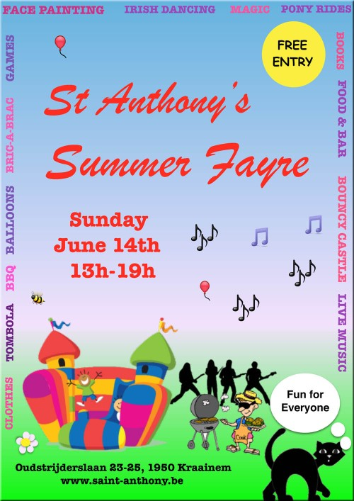 St Anthony's Fayre poster 2015