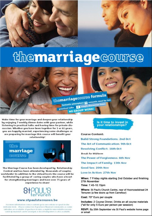 St P The Marriage Course 2015
