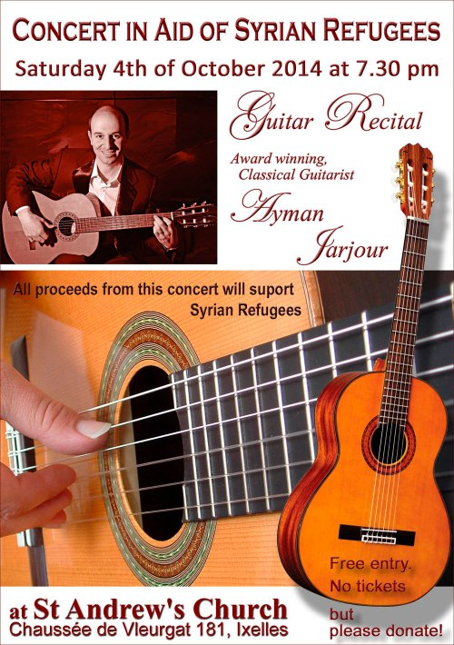 Syrian Refugees Aid Concert 8 2014 B