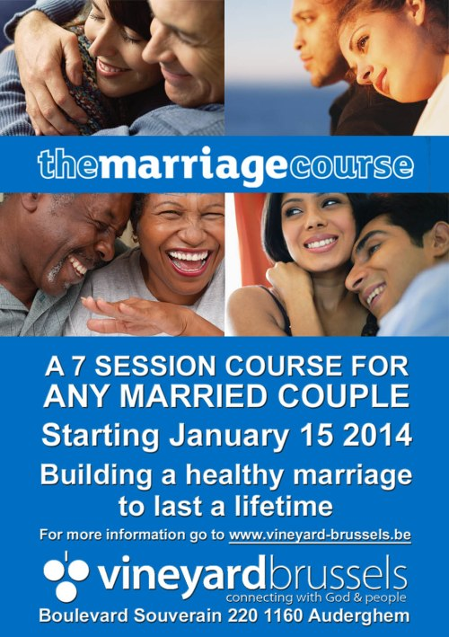 Vineyard Alpha Mariage course Jan  2014