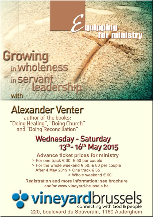 Vineyard Conf  Alexander Venter 2015 en