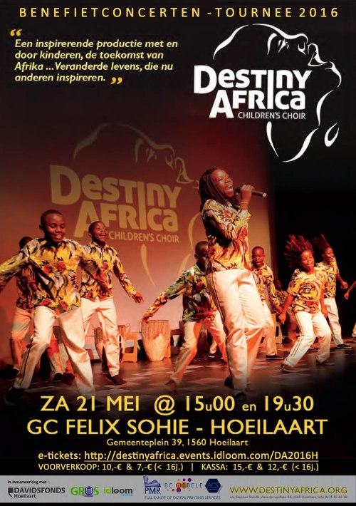 Vineyard-Hoeilaart - Destiny Africa poster 2016