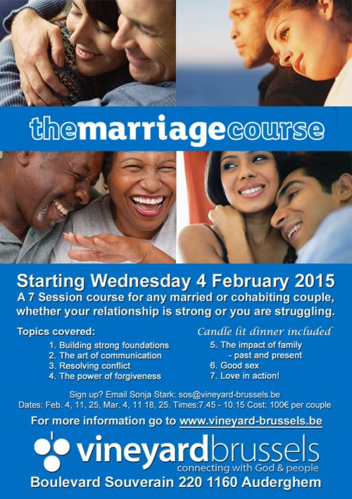 Vineyard Marriage course Feb 2015 A