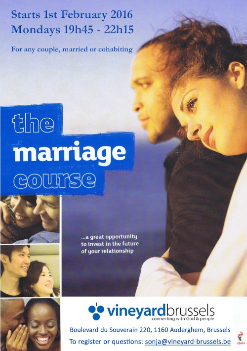Vineyard Marriage course Feb 2016